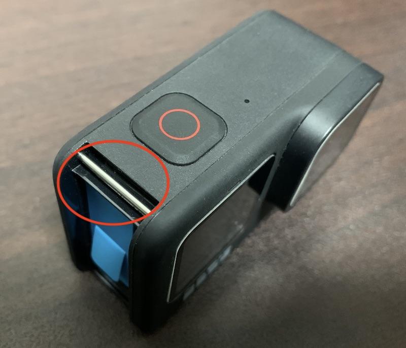 GoPro Hero9 バッテリーカバー取り付け用金属バー