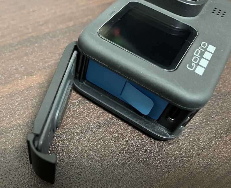 GoPro Hero9 バッテリーカバー取り付け後