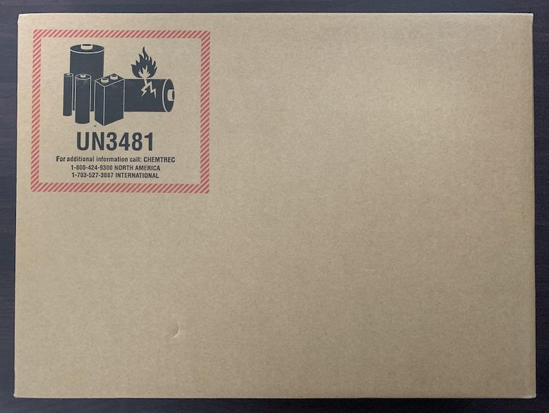 M1 MacBook Air郵送用段ボール箱