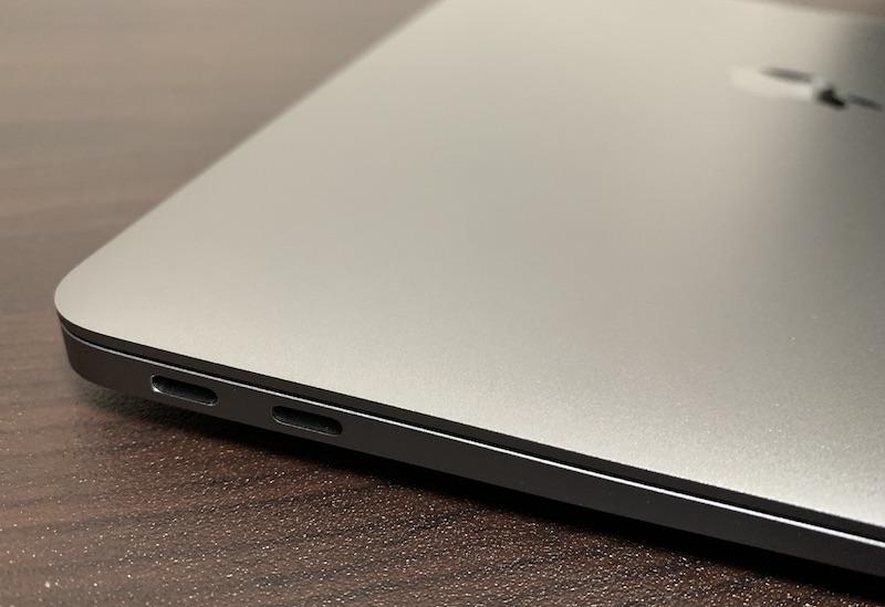 M1 MacBook Air USB Type-Cポート