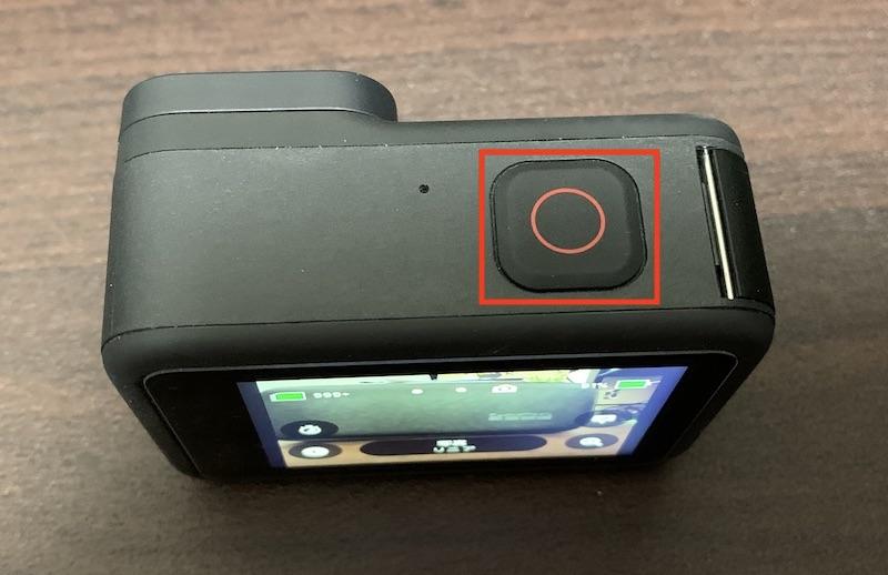 GoPro Hero9 シャッターボタン