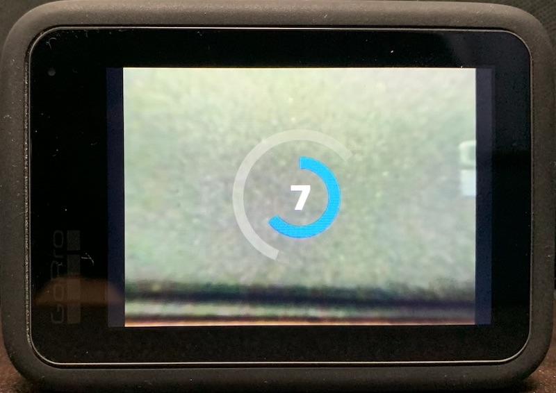GoPro Hero9 タイマーカウントダウン