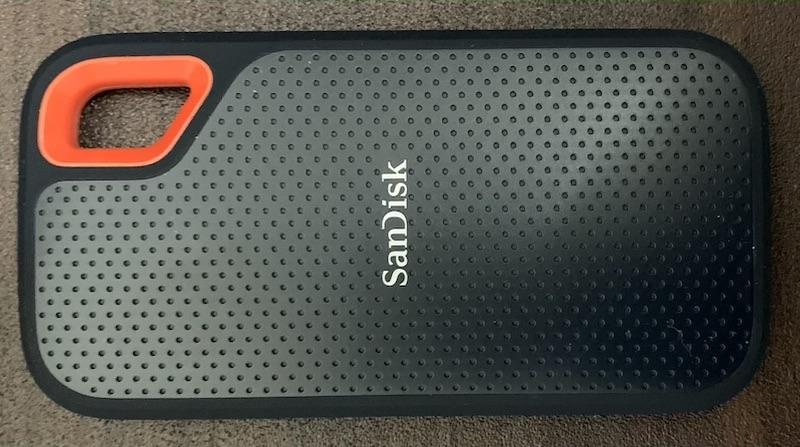 SanDisk USB 3.1 Gen2対応 ポータブルSSD