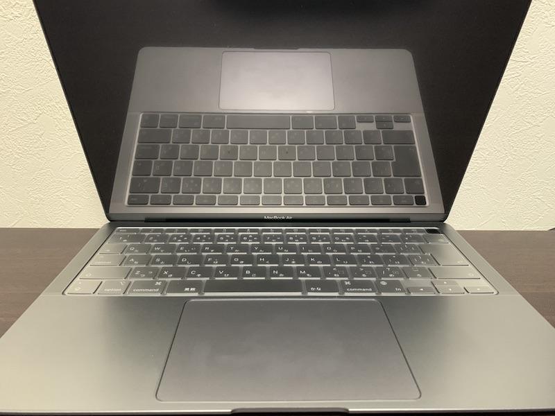 NIMASO MacBook13インチ用アンチグレア液晶保護フィルム装着前