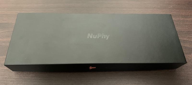 NuPhy NuType F1 パッケージ全体