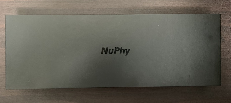 NuPhy NuType F1パッケージ表側