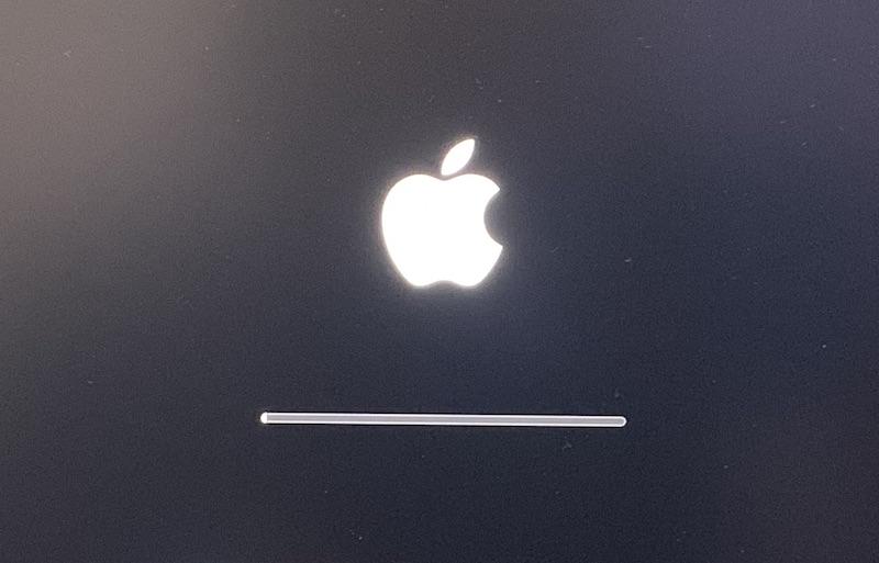 AppleシリコンMacBook再起動