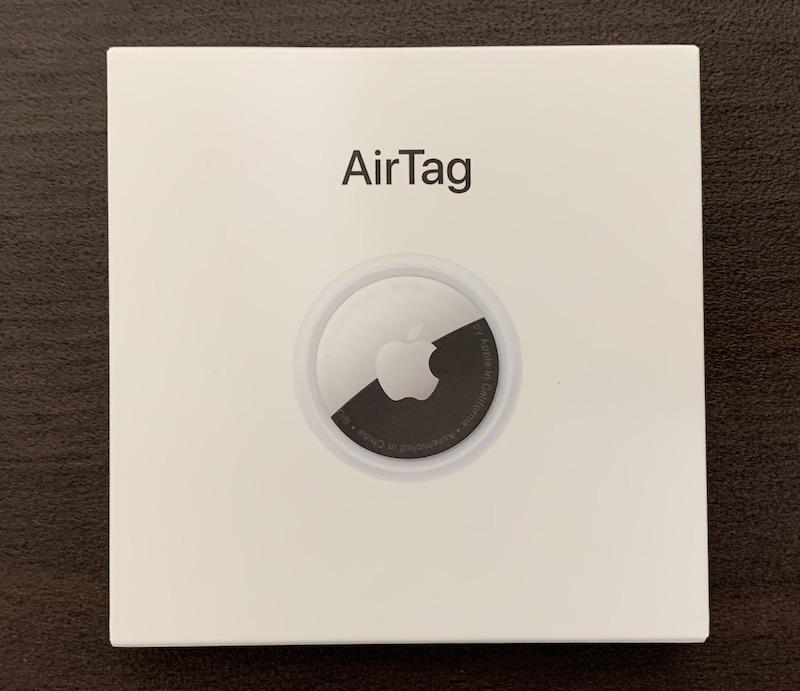Apple AirTagパッケージ表側