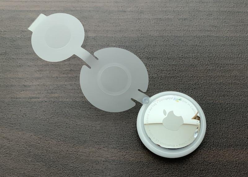 Apple AirTagボタン電池絶縁