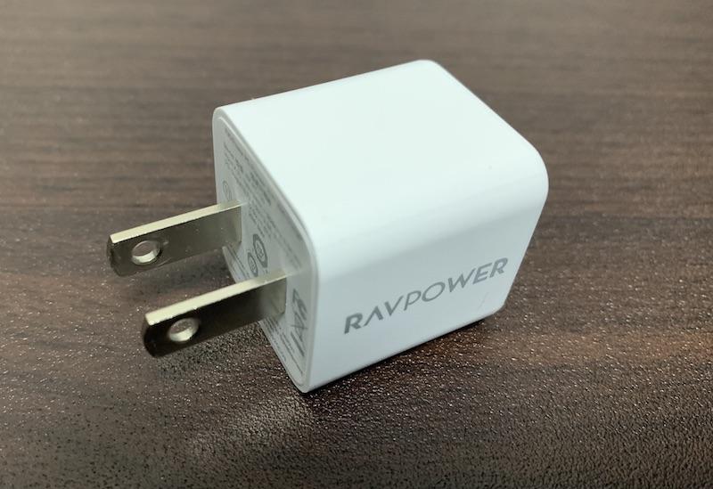 RAV Power 20W 急速充電対応・小型・軽量充電アダプタ RP-PC150の外観