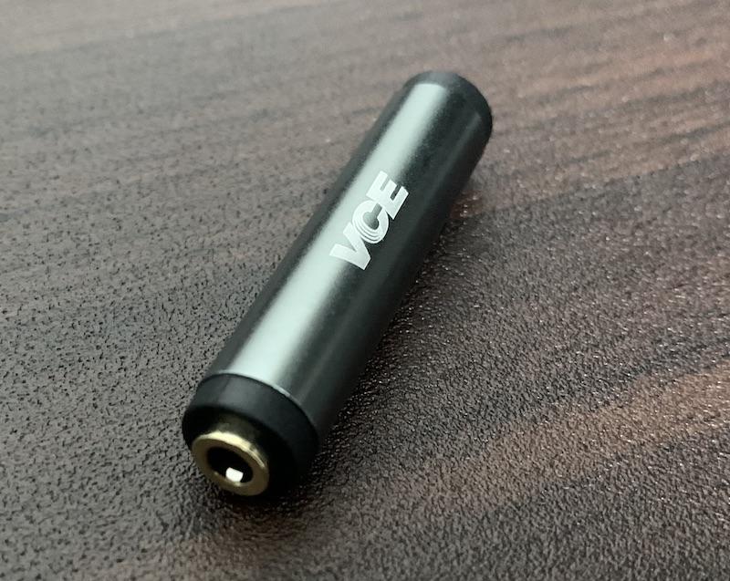 VCE 3.5mm ステレオミニプラグ 中継コネクタ端子