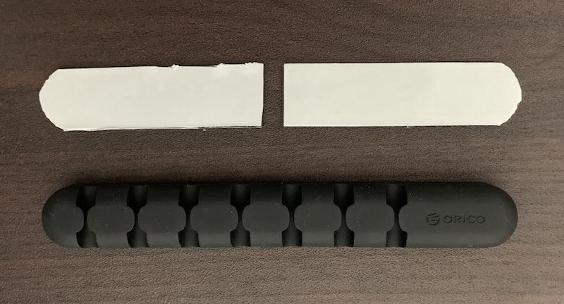 コクヨ 強力マグネットシートをケーブルホルダー の大きさにカット