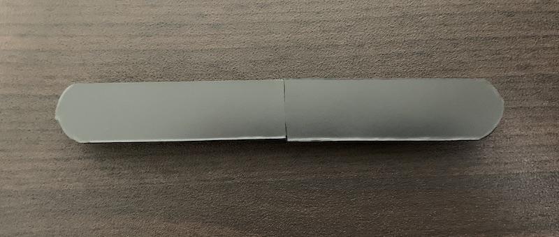 ORICO ケーブルホルダー(CBS7-BK)にマグネットシートを貼り付け