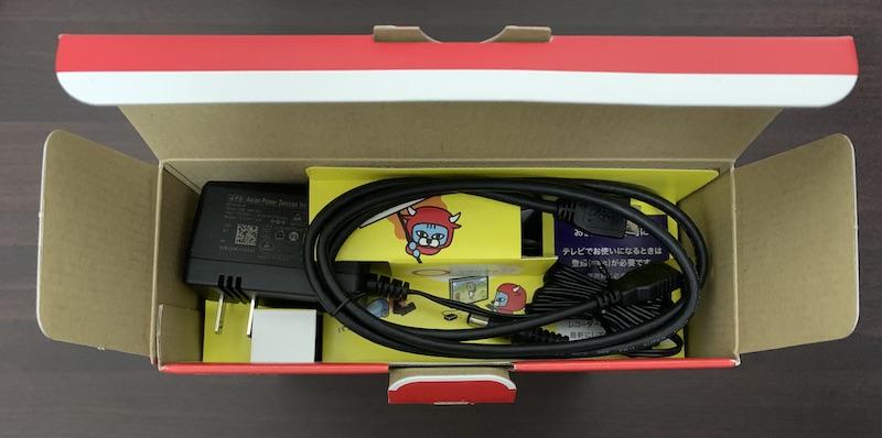 BUFFALO外付けHDD(HD-EDS6U3-BC)のパッケージを開封(1段目)