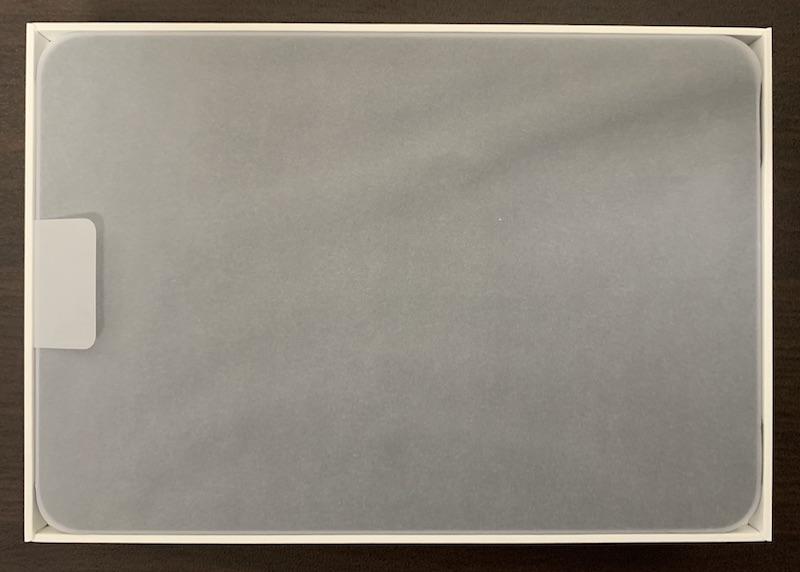 iPad mini6のパッケージ開封(本体)