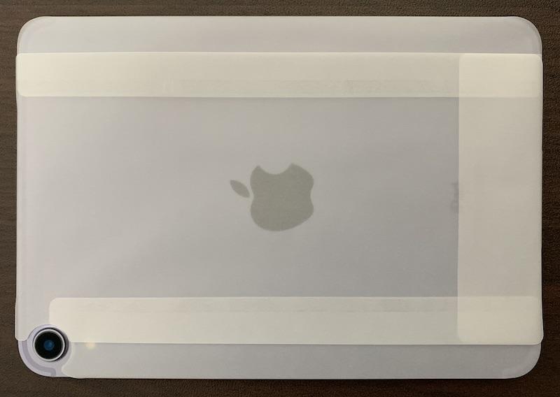 iPad mini6本体保護シート背面