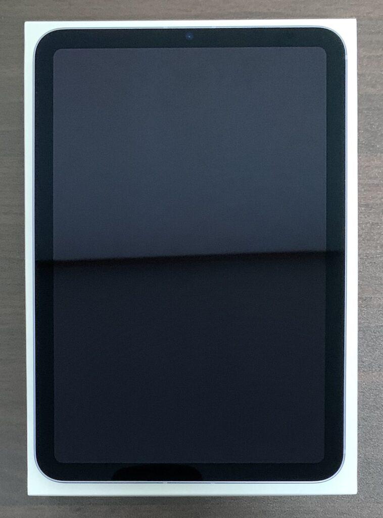 iPad mini6の前面