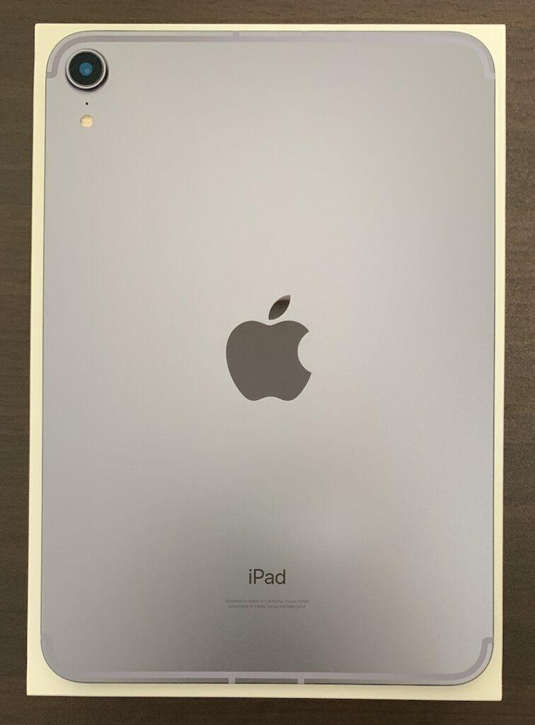 iPad mini6の背面