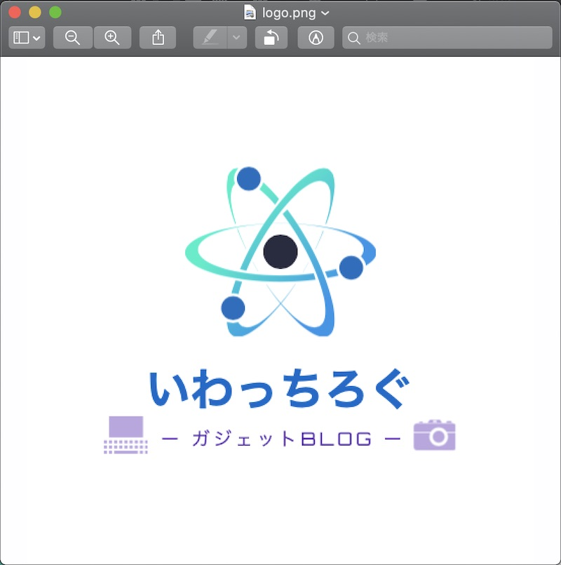DesignEvoで作成した有料ロゴ画像
