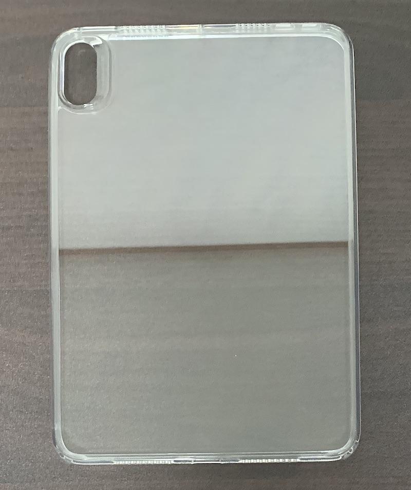 ESRのiPad mini6 用クリアケースの背面全体