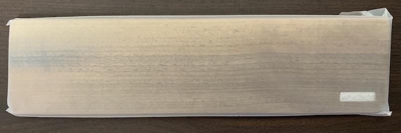 Kyechron K2 木製パームレストの開封直後