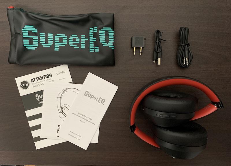 Super EQ S1の付属品(内容物)